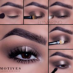 2,770 Likes, 14 Comments - All About Glamour Lori Suarez (@allaboutglamouraz) Step by step | eye | eyes | makeup | nude