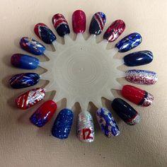 New England Patriots Nails