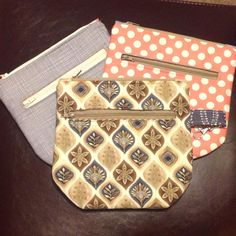Created by Louise Tubb, Using the duo zipper pouch tutorial by crafty Gemini Crafty Gemini, Zipper Pouch Tutorial, All Craft, Dressmaking, Crossbody Bag, Sewing, Fabric, Crafts, Bags