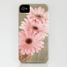 Four Gerberas iPhone Case by F Photography and Digital Art - $35.00