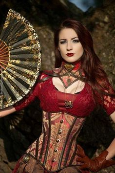 Rotes Haar