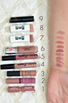 best drugstore nude lipsticks | www.fizzandfrosting.com