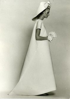 1968, Balenciaga wedding dress
