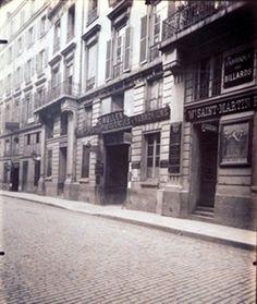 Hotel du Conte de Schtre 66 Rue de Bondy (10e) By Eugène Atget ,1909