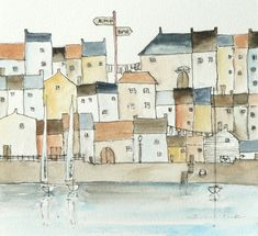 art studio atelier28: more harbour town watercolours