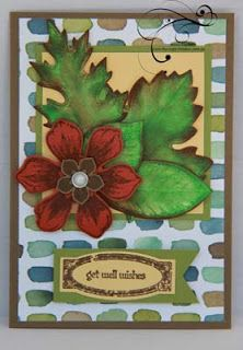 Stampin Up! Vintage Leaves Bundle, Awesomely Artistic, 3D leaves