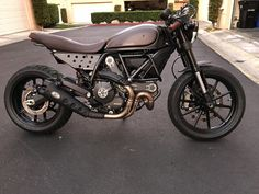 Cafe Racer Full Throttle With Rizoma Tach Relocate Ducati