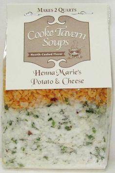 Cooke Tavern Henna Marie Potato and Cheese Soup Mix | Treasure Journeys