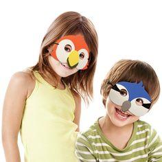 Kle deg ut som ville dyr, fargerike fugler eller ...