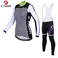43.99$  Watch here - http://aliaj0.worldwells.pw/go.php?t=32778986864 - X-Tiger Hedia Winter Women Cycling Jerseys/Super Warm Mountian Bicycle Sportswear/2017 Thermal Fleece Bike Cycling Clothing