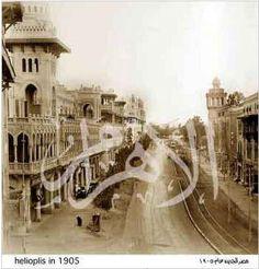 شارع ابراهيم اللقانى مصر الجديدة 1905