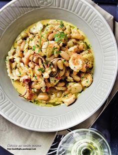 Cassoulet de frutos do mar