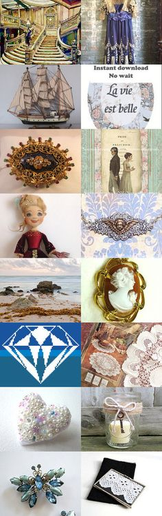 Treasures of Massive, Powerful, Titanic Proportions by Susan on Etsy--Pinned+with+TreasuryPin.com