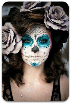 costume pics for dia de los muertos  | Maquiagem Día de los Muertos | Unique-se