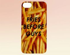 Fries Before Guys iPhone Case | iPhone 4/5/6 | Tumblr Cute Cool Kawaii Boys Girls Food Pizza *ON SALE*
