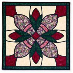 Rose Medallion Wall Hanging Pattern by Gretchen Hudock