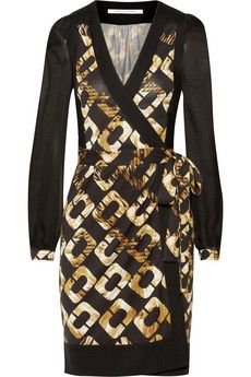 Diane von Furstenberg Laila printed silk wrap dress | THE OUTNET