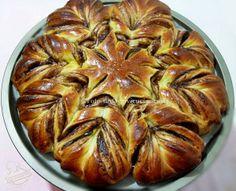 ©Oggi vi cucino così!: Stella Briosche con crema al Rum Cioccolato Arancia