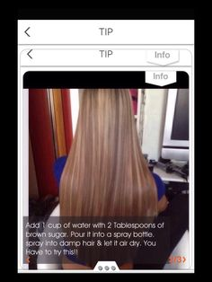How To Get Your Hair Straight Without Heat...