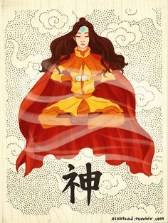 Adult female airbender. Avatar lab lok
