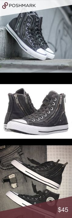 Converse Chuck Taylor Double Zipper High Top Storm New without tags Converse Shoes Sneakers