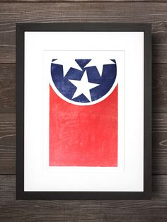 The TN Flag. Simple, beautiful and full of pride. The flag was designed by Colonel LeRoy Reeves, a Jonnson Citian himself. Our favorite fact Vintage Flowers Wallpaper, Flower Wallpaper, Tennessee Flag, East Tennessee, Different Flags, Picture Arrangements, Flag Signs, Inspiration Wall, Letterpress Printing