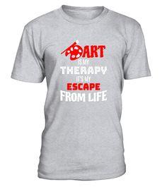 """# Art Is My Therapy T-shirt - Artist Gift .  Special Offer, not available in shops      Comes in a variety of styles and colours      Buy yours now before it is too late!      Secured payment via Visa / Mastercard / Amex / PayPal      How to place an order            Choose the model from the drop-down menu      Click on """"Buy it now""""      Choose the size and the quantity      Add your delivery address and bank details      And that's it!      Tags: Do you sketch, paint, sculpt or draw? Do…"""