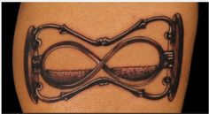 hourglass infinity tattoo - Google Search