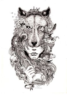 The Detailed Ink Pen Doodles of Kerby Rosanes