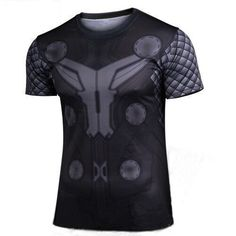 1f1812f4d Marvel Heroes Thor Tshirt The Avengers 2 Summer Style Short Sleeve Thor  Costume T Shirt Man Tee Shirt Clothes