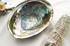 Our Abalone Bundle is the perfect starter kit or housewarming gift for your friend or yourself. Each kit includes 1 large abalone shell 1 blue sage & sweetgrass smudge stick, and step-by-step instructions on how to smudge. Our blue sage & sweetgra Detox Kit, Sage Smudging, Burning Sage, Smudge Sticks, Abalone Shell, Heart Art, Starter Kit, Gemstone Rings, Gemstones