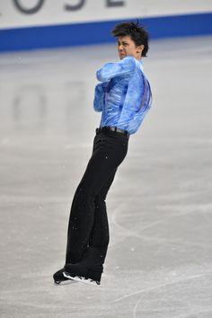 Yuzuru Hanyu of Japan performs in the men's short program during All Japan Figure Skating Championships at Saitama Super Arena on December 21, 2013 in Saitama, Japan.