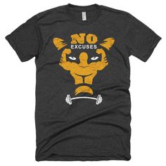 NO Excuses Fitness Tee