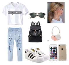 """""""Untitled #20"""" by keoghruth on Polyvore featuring WithChic, adidas Originals, Frends, Speck and Ray-Ban Adidas Originals, The Originals, Ray Bans, Polyvore, Fashion, Moda, Fashion Styles, Fashion Illustrations, Fashion Models"""