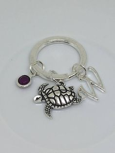 #Turtlekeyring, #keyring, #nauticalkeychain, #sealifekeychain, #oceantheme, #seaturtle #etsy  #keychain #jewelry #love #want #handmade #adore #mothersday