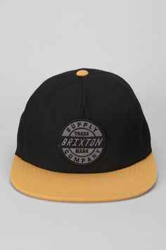 Brixton Council Snapback Hat  #urbanoutfitters