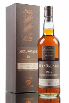 Distilled in 1995 and left to mature in single cask #4034 for 19 years. Released as part of GlenDronach Batch 12, 683 bottles filled in 2015 at cask strength, 55.4% vol.