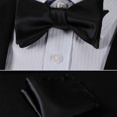 Kravatové sady a sety ako napríklad motýlik + vreckovka sú často Fashion, Moda, Fashion Styles, Fashion Illustrations