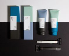 "Saana Hellsten | http://saanahellsten.com ""Razors and shaving creams use highly gendered visual language. By the look of the product, you will know which razor is marketed towards women and which towards men. My project takes away the gendered design from the razors and shaving gels. Like the razors, shaving gels have highly gendered design, although the purpose is usually the same; to make the skin smooth. The project focuses more on the function by giving the option to choose the ..."