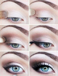 Makeup step-by-step
