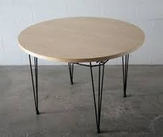 Image result for pin leg dining table