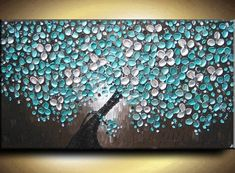 abstract palette knife painting - Google Search