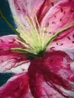 I'd love to felt a flower painting.