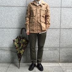 engineered garments & paraboot #menswear #fashion #men #clothing #mode #style #outfit #ootd #waywt #inspiration