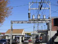 Steel Frame Electric Distribution Alley Towers, Newton IA (2) | Flickr - Photo Sharing!