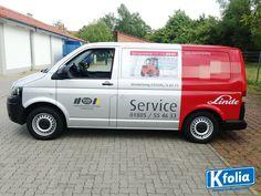 K'folia Autofolierung für das Unternehmen Linde.
