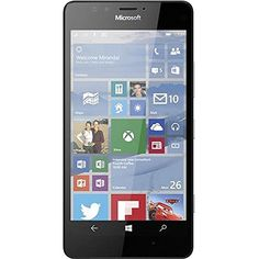 Microsoft Lumia 950 RM-1105 Unlocked AT&T Windows 10 32GB Smartphone - Black (Certified Refurbished)  http://topcellulardeals.com/product/microsoft-lumia-950-rm-1105-unlocked-att-windows-10-32gb-smartphone-black-certified-refurbished/  This Certified Refurbished product is factory refurbished, shows limited or no wear, and includes all original accessories plus a 90 day warranty POWERED BY WINDOWS 10: Discover the benefits of one Windows experience. Office documents and p