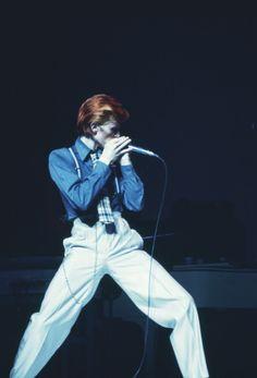 David Bowie, Palace Theatre, Detroit, David Slania, 1974