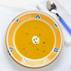 Roasted and Curried Butternut Soup