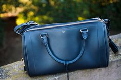 Celine Asymmetrical Bag in Navy